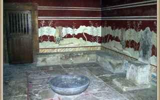 Storia: cnosso  creta  labirinto  minoici  mito