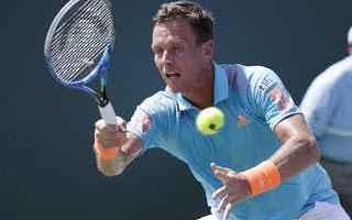 Tennis: tennis grand slam berdych seppi fognini
