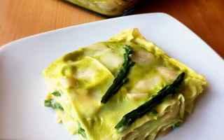 Ricette: lasagne  asparagi  primi