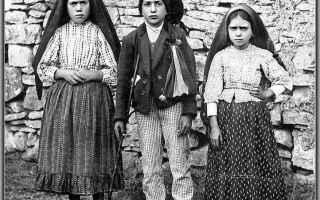 Religione: fatima  francisco  giacinta  13 maggio