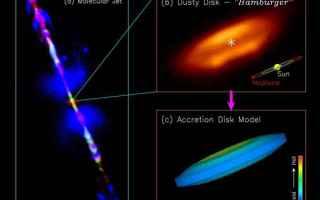 Astronomia: alma  protostelle