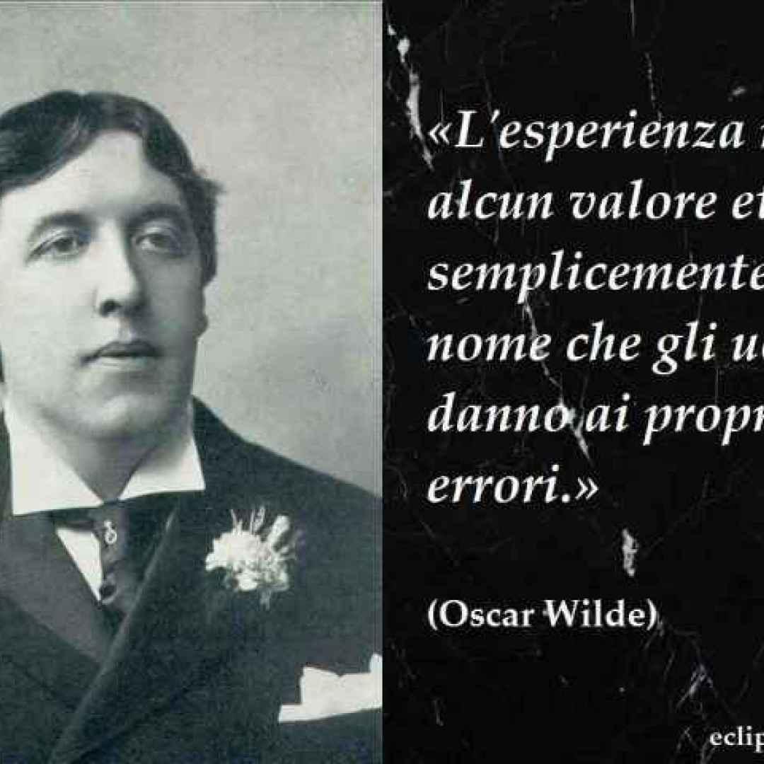 Frasi Celebri Aforisma Di Oscar Wilde Frasi Celebri