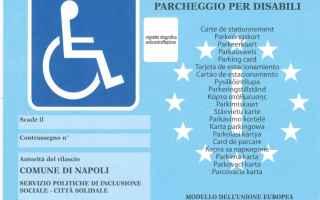 disabili contrassegno uso fotocopia