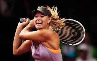 Tennis: tennis grand slam sharapova stoccarda