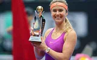 Tennis: tennis grand slam svitolina istanbul