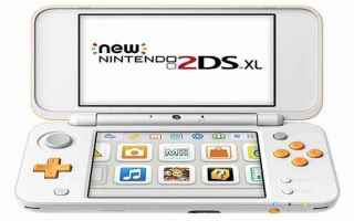 nintendo 2ds xl  consolle  videogame