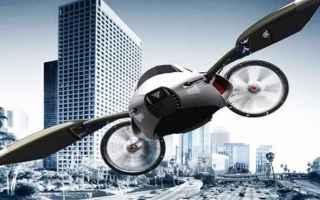 Automobili: auto volanti  futuro  mobilità