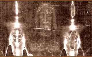 Torino: enea  impronta  sacro lino  sindone