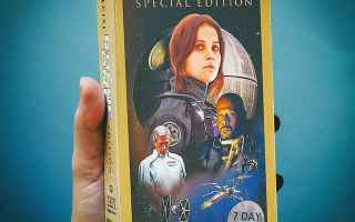 Cinema: star wars day  star wars  rogue one  vhs  anni 80  trailer