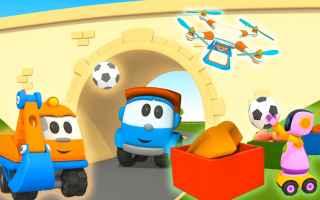 Video divertenti: cartoni animati  bambini  costruzioni