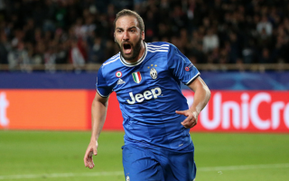 Champions League: juventus  monaco  higuain dybala