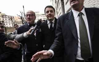 Politica: renzi  di maio  m5s  emiliano  salvini