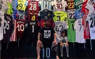 Calcio Estero: messi  collezione  maglie