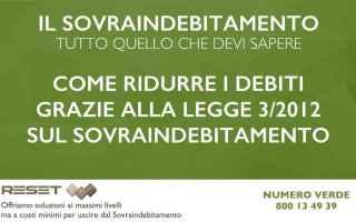 Leggi e Diritti: sovraindebitamento  debiti  equitalia
