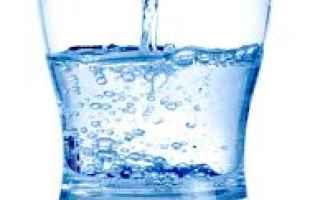Salute: acqua  salute  benessere