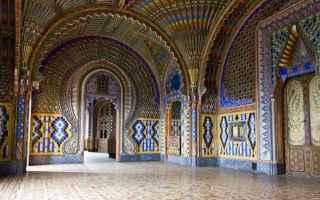 Firenze: arabi  castello di sammezzano