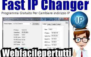 Software: fast ip changer  ip  programma