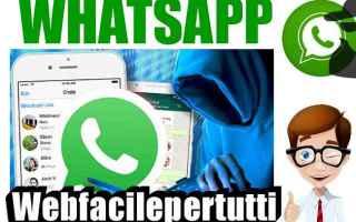 Sicurezza: whatsapp  messaggio  scade domani