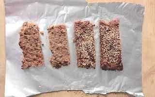 Alimentazione: barrette energetiche  alimentazione sana