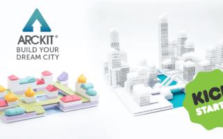 Arckit, la startup irlandese già conosciuta per i suoi innovativi e pluripremiati kit di costruzion