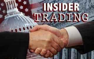 Borsa e Finanza: insider trading