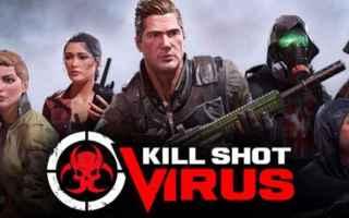 Mobile games: killshotvirus  zombie  videogame