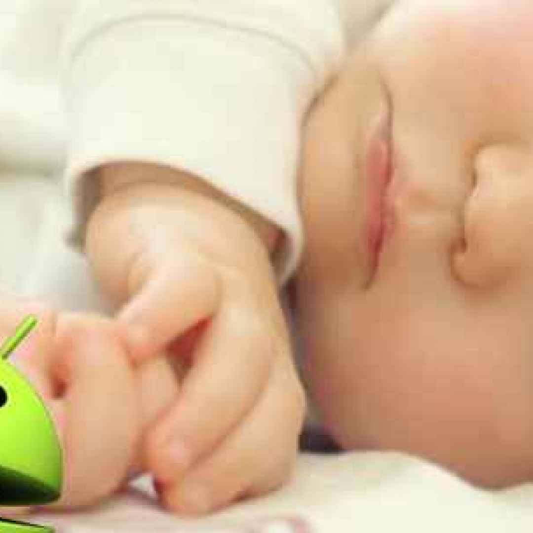 android bambino figlio rumore bianco