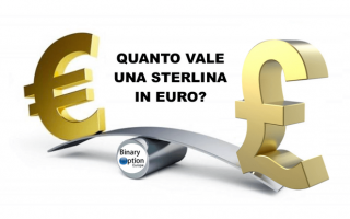 quanto vale una sterlina in euro oggi