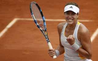 Tennis: tennis grand slam halep muguruza