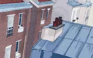Architettura: parigi  tetti  haussmann  blog  viaggi;