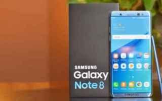 Cellulari: galaxy  note 8  samsung