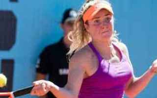 Tennis: tennis grand slam halep svitolina