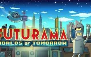 Mobile games: futurama  videogame  worlds of tomorrow
