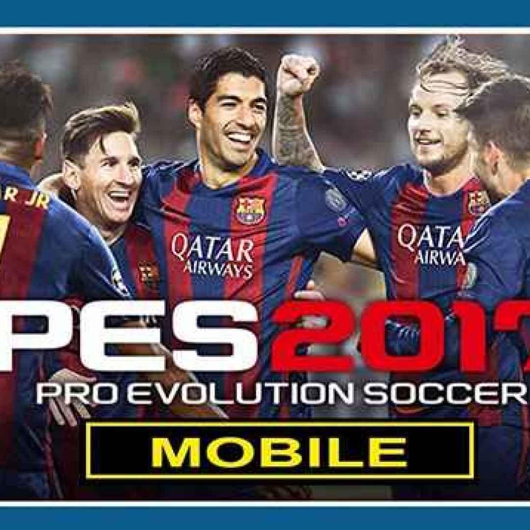 pes 2017  mobile  videogame