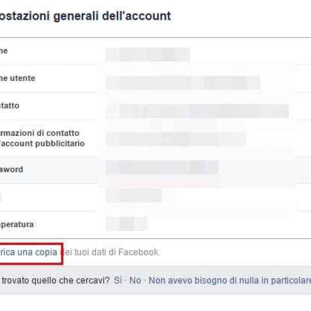 facebook  cancellare account facebook