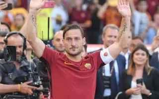 Serie A: totti  ultima partita  olimpico  roma