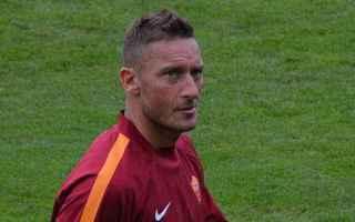 Serie A: totti  francesco totti  roma  calcio