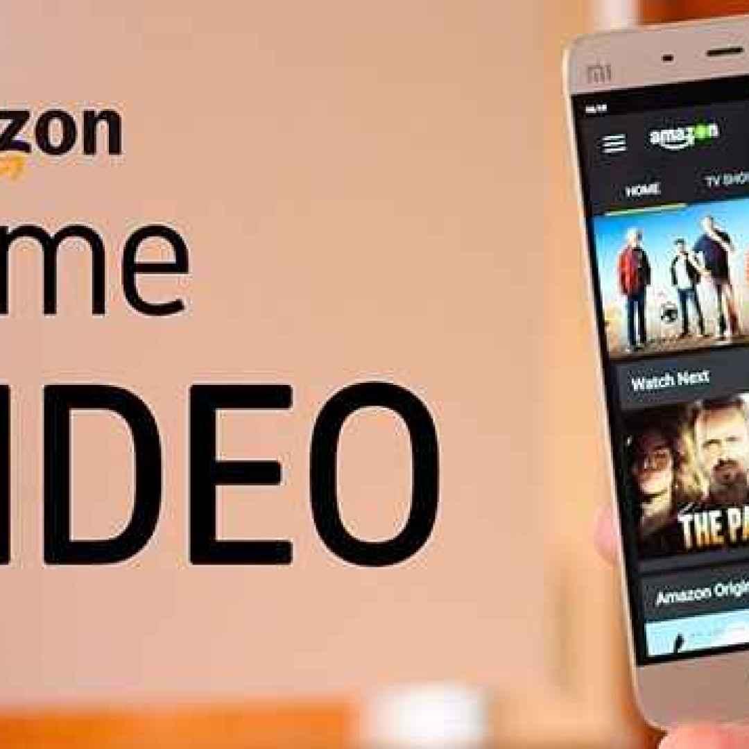 amazon prime video  on demand  canali