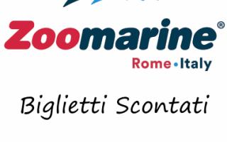 Roma: zoomarine offerte parco sconti risparmio