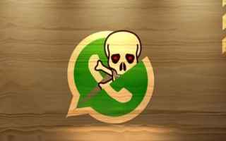 Sicurezza: whatsapp  virus  fake  adware