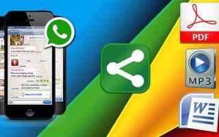 App: whatsapp  inviare file  apps