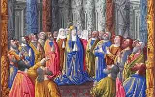 Religione: pentecoste  cenacolo  consolatore  dio