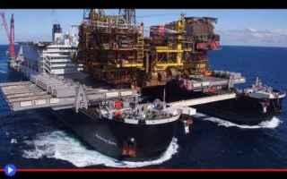 dal Mondo: navi  trasporti  energia  estrazone