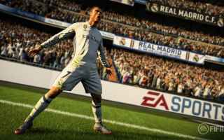 fifa 18  giochi  cr7  ps4