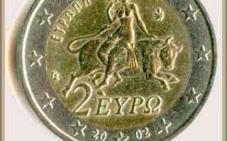 Cultura: mitologia  moneta  taso  tiziano  toro