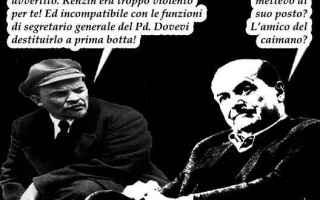 Satira: matteo renzi  pd  pier luigi bersani