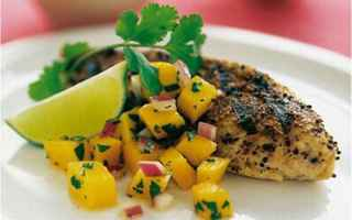 Ricette: pollo al sesamo  paprika  ricetta light
