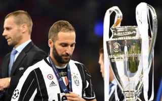 Calcio: higuain  champions league  juventus