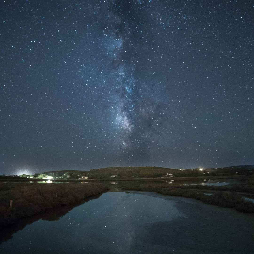 astronomia  via lattea  sardegna  stelle