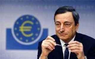 Borsa e Finanza: bce  draghi  euro